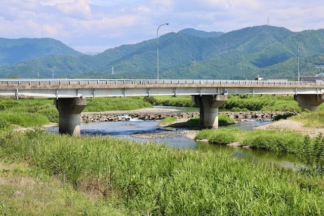 清流武儀川を見ながらお茶でもどうですか?