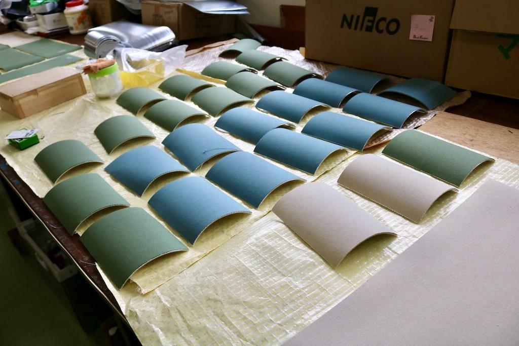 KURUMIは帆布を使用